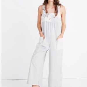 NWT size XS Madewell x The Denim Project Jumpsuit